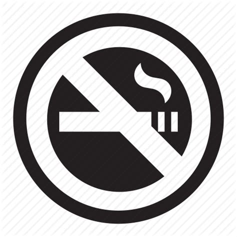 no smoking sign vector png banned cigarette health no smoking warning icon