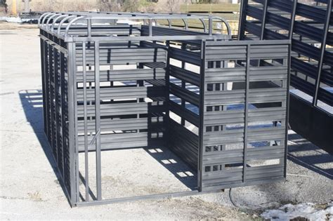 used 2015 slide in cattle racks for a utility trailer
