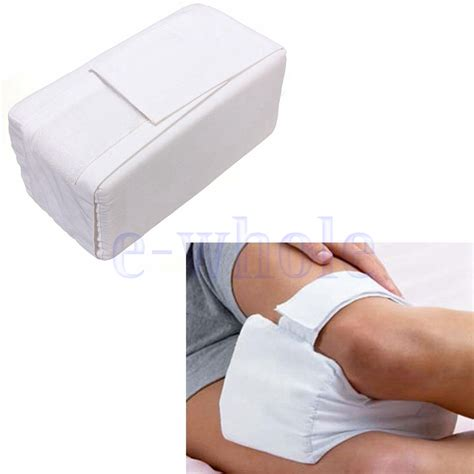 bed wedge pillow for legs memory foam knee leg pillow bed cushion wedge pressure