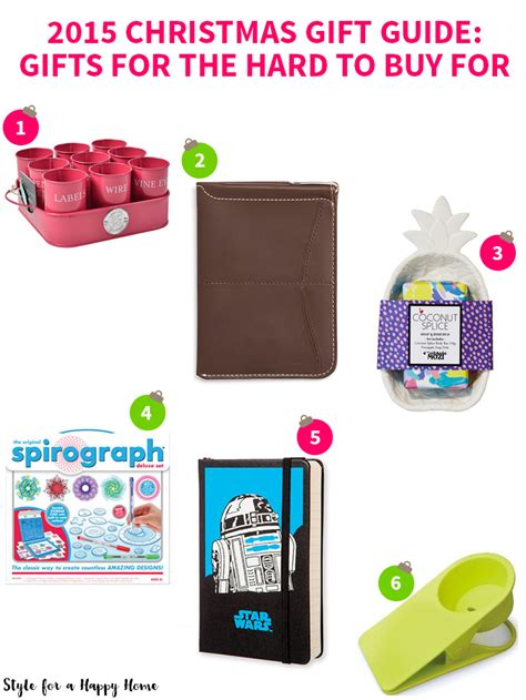 2015 christmas gift guide gifts for the hard to buy for