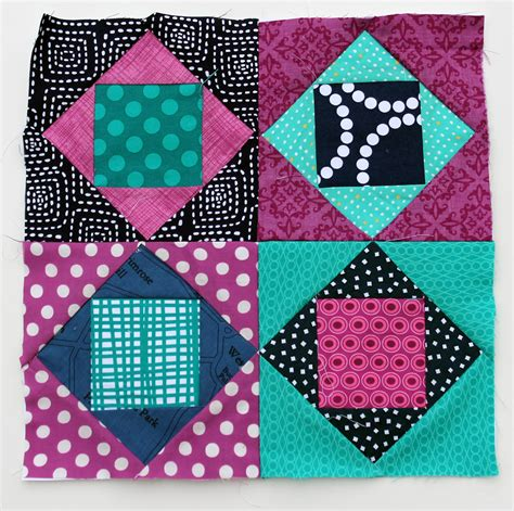 quilt pattern square in a square square in square fun wip wednesday wombat quilts