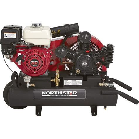 shipping northstar gas powered air compressor