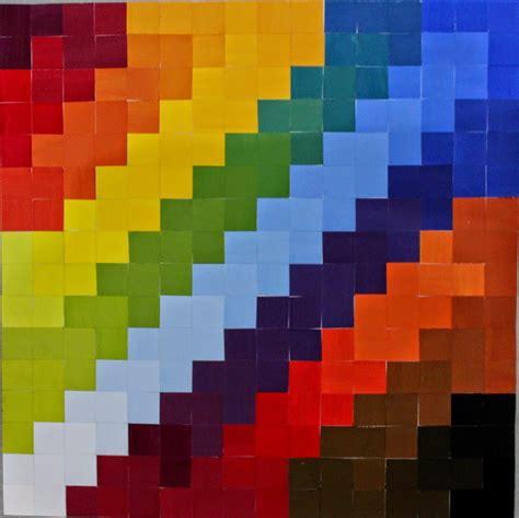 gradasi warna nirmana mosaic berita indonesia