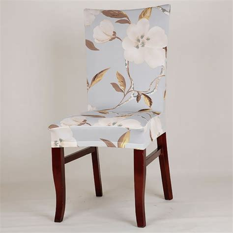 vintage dining room chair covers retro dining room wedding banquet elastic chair cover seat