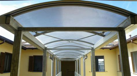 coperture trasparenti per tettoie coperture trasparenti