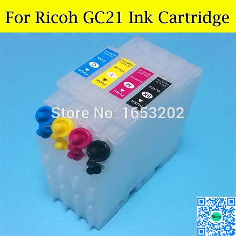 t1811 refillable ink cartridge with reset chips for epson factory price refillable ink cartridge for ricoh gc21 with