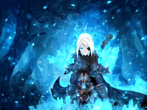 Anime Vire Hd Wallpaper Blue Anime Wallpapers 52 Wallpapers Hd Wallpapers