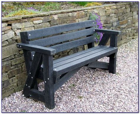recycled plastic outdoor benches recycled plastic benches for schools bench home design