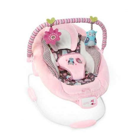 pink bright starts swing bright starts comfort and harmony cradling bouncer pink