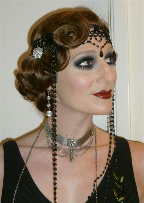 roaring twenties makeup pictures roaring 20 s makeup and hairstyle sagacity art deco