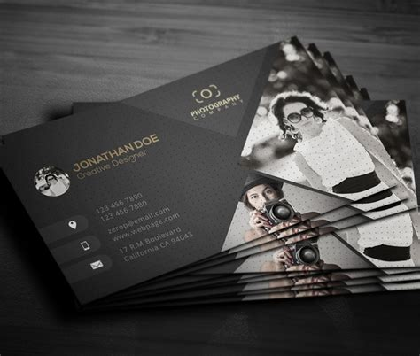 Photography Plastico Business Card Template by New Printable Business Card Templates Design Graphic