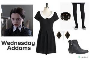 Wednesday Addams Costumes Last Minute Diy Halloween Costume Wednesday Addams Megan Joy