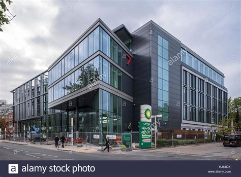 Subsea 7 Office by Subsea7 Office Construction Sutton Stock Photo 131713174