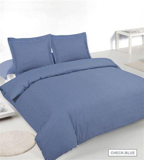 gingham comforter gingham check king easy iron blended cotton duvet set in