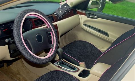 Upholstery Steering Wheel by Jaguar Print Seat Covers Steering Wheel Cover And Fuzzy