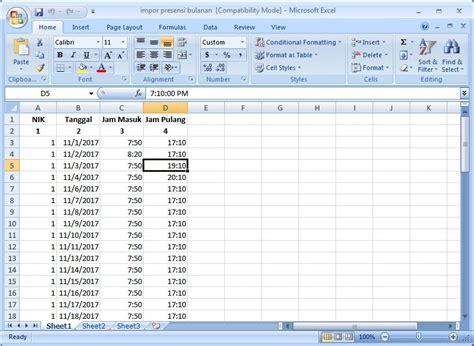 format perhitungan gaji karyawan tutorial perhitungan lembur gaji karyawan pada aplikasi