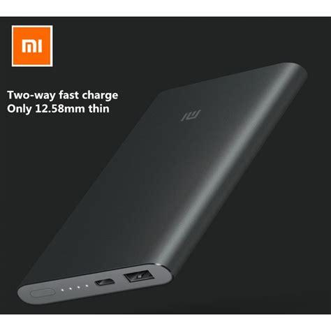 Trand Xiaomi Powerbank 2 10000 Mah Fast Charging Original Jv1365 original xiaomi 10000mah pro charger type c powerbank