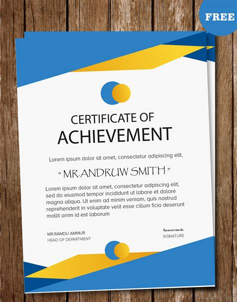 certificate design template psd www imgkid com the