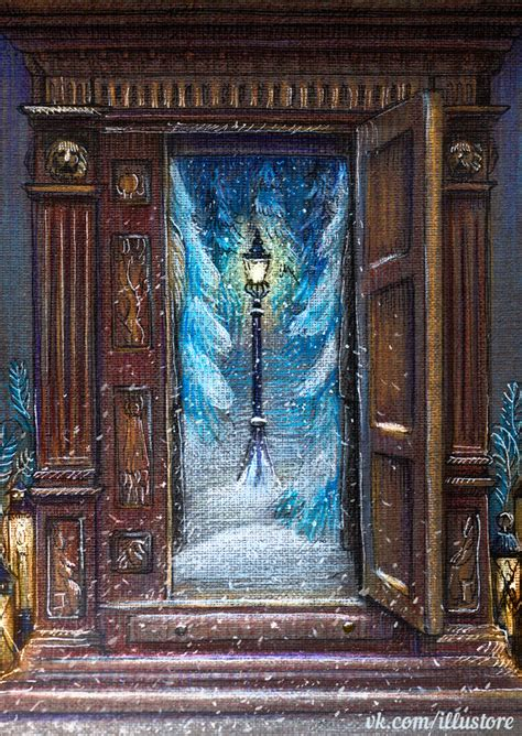 Wardrobe To Narnia by Narnia Card By Nokeek On Deviantart