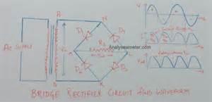 bridge rectifier circuit and operation