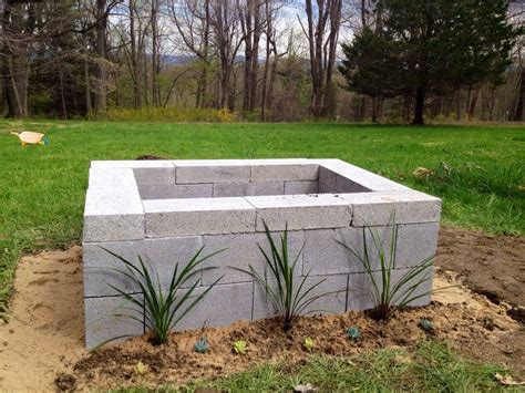 Cinder Block Pit Inexpensive And Attractive Ideas Best 25 Cinder Block Pit Ideas On