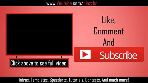 end card template size sony vegas pro 11 free beat outro template 1