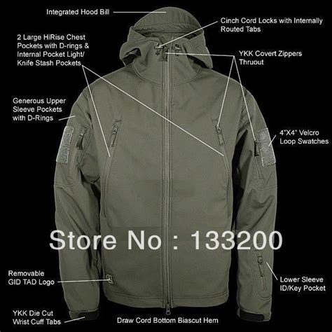 Jaket Sweater Hoodie Import Quality Ym01 2013 tad gear spectre softshell jacket army green new aught design stealth hoodie in