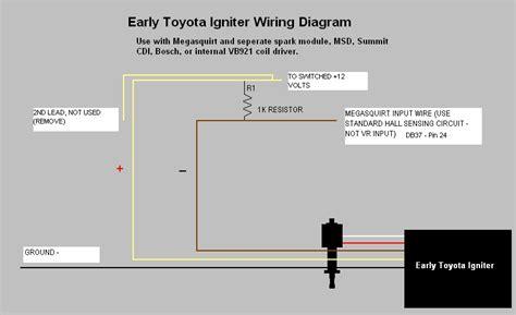 igniter wiring diagram toyota 2 toyota ecm wiring