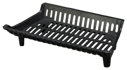 Fireplace Grates Cast Iron by 22 Quot Cast Iron Fireplace Grate With 4 Quot Legs Rustic