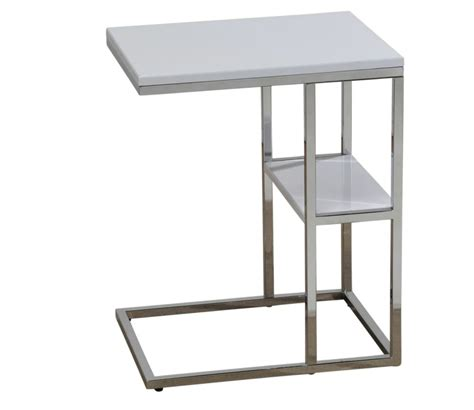 nspire moda accent table white the home depot canada