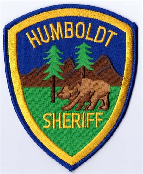 Humboldt County Sheriff S Office by Chiv Words Worth Former Hcso Deputy Cao