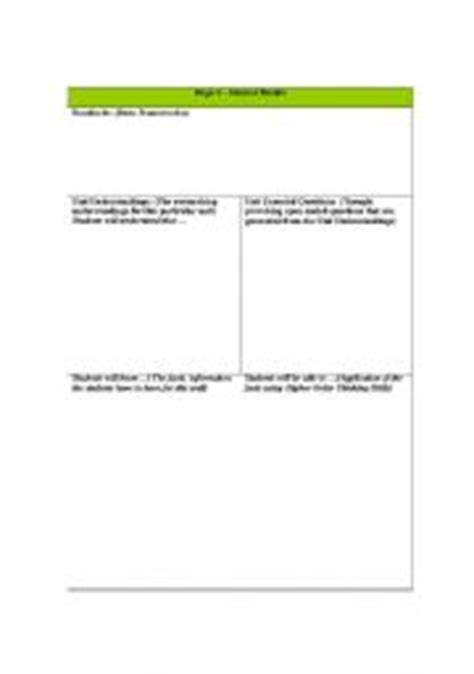 standards based lesson plan template new calendar