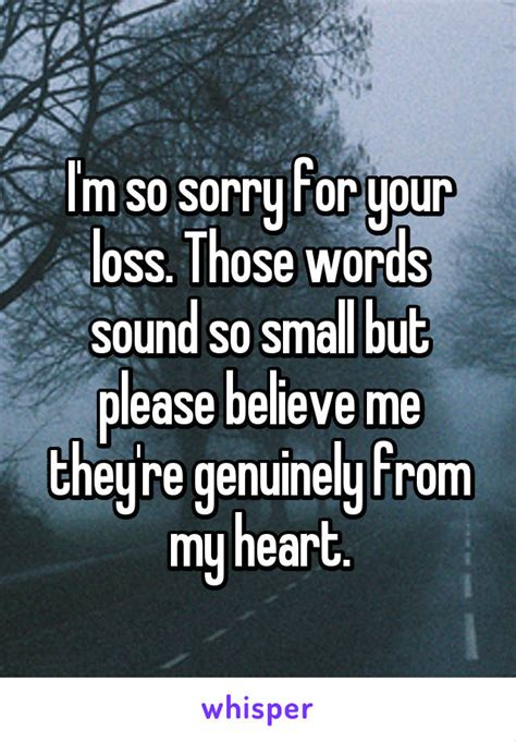 Im So Subtle by I M So Sorry For Your Loss Those Words Sound So Small But
