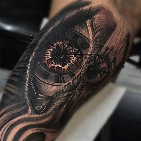 tattoo fixers eye clock blueinkaholiktattoos on twitter quot eye clock tattoo done