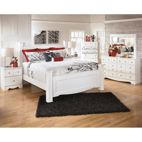 White Modern Bedroom Furniture Set by Weeki White 6 Classic Contemporary Bedroom Set