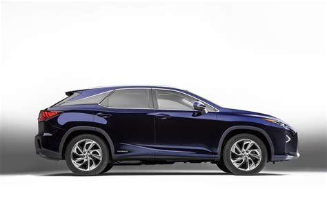 All New 2016 Lexus Rx Crossover Arrives With Bold New