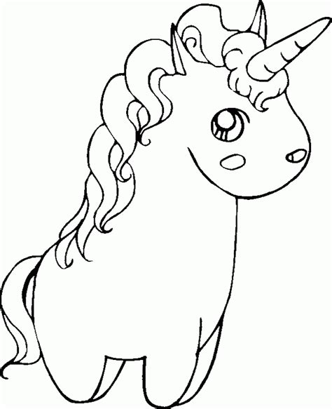 printable unicorn drawing drawing of a unicorn coloring home