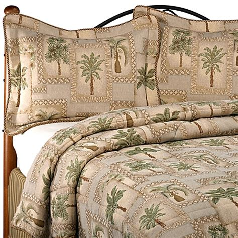 Tropical Themed Bedspreads - buy palm tree bedding set from bed bath amp beyond