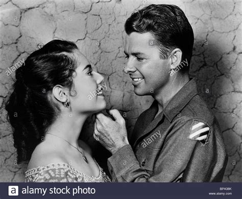 to hell and back audie murphy susan kohner audie murphy to hell and back 1955 stock