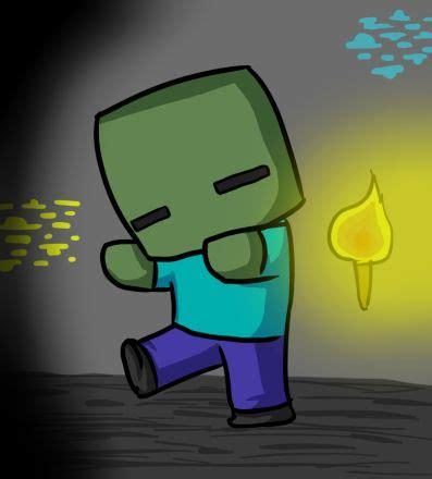 imagenes de minecraft kawaii minecraft drawings minecraft drawing chibi zombie by