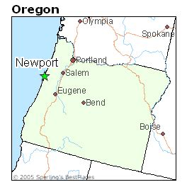 map of oregon newport best places to live in newport oregon