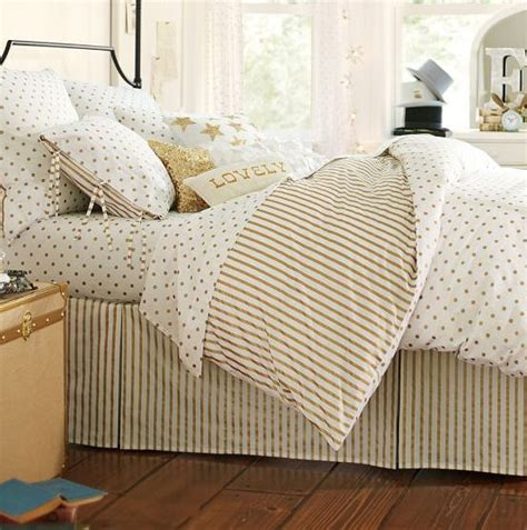 Gold Polka Dot Comforter by Bedding Gold Polka Dots And Stripes Unrealistic