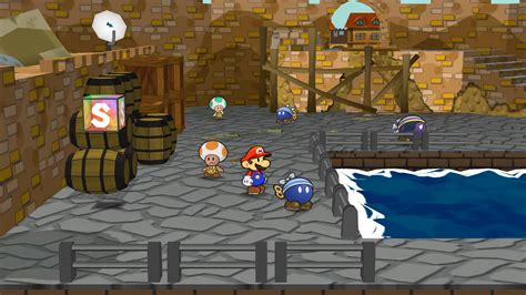 Paper Mario The Thousand Year Door Review paper mario the thousand year door bomb