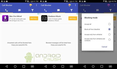 best call blocker for android best free call blocking apps for android 2017 android crush