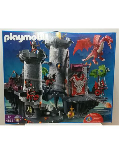 gran castillo del dragon playmobil