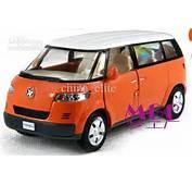 Mini Bus Alloy Model Car Toys Open Doors Pull Back Micro Toy