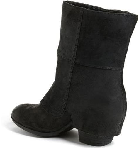 fergie boots fergie cameo boot in black lyst