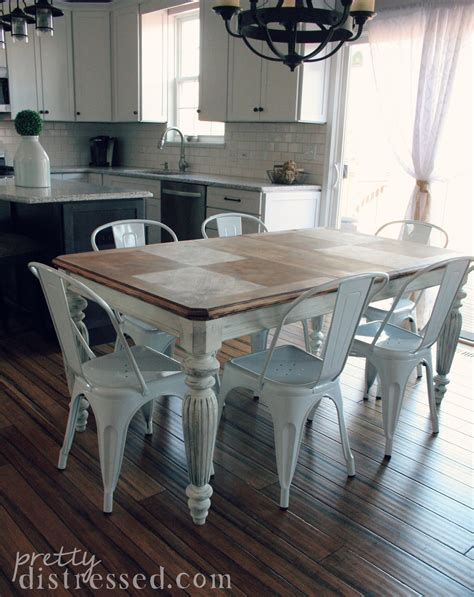 a farmhouse table pretty distressed the of a farmhouse table