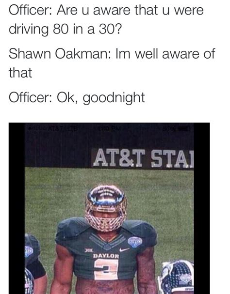Shawn Oakman Memes - baylor s shawn oakman memes are blowing up the internet daily snark