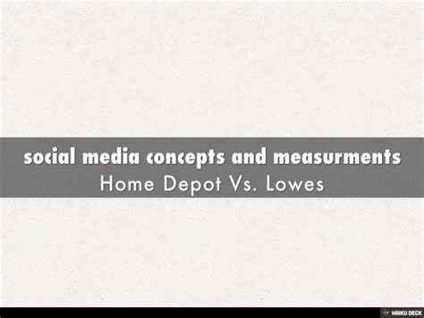 Lowes Vs Home Depot by Home Depot Vs Lowes